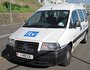 ITV Channel Television - One of ITV Channel Television's vehicles as seen in 2011.