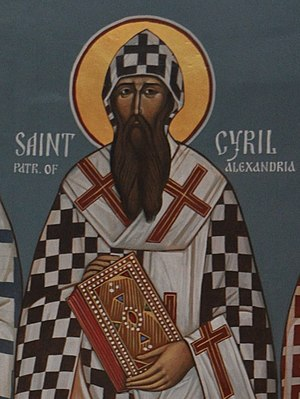Icon St. Cyril of Alexandria