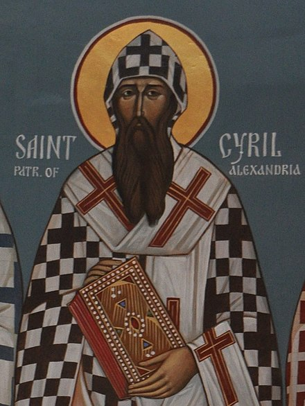 Icon of St. Cyril of Alexandria Icon St. Cyril of Alexandria.jpg