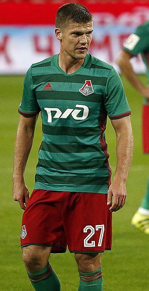 Igor Denisov - Denisov with Lokomotiv Moscow in 2016