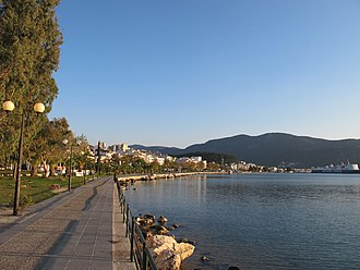 Igoumenitsa - The promenade.