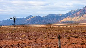 Flinders Ranges, South Australia - Razorback Lookout, Ikara-Flinders Ranges National Park