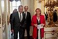 Im Rahmen des Besuchs von Präsident Vladimir Putin trifft sich Außenministerin Karin Kneissl mit ihrem russischen Amtskollegen Sergej Lawrow (41895696944).jpg