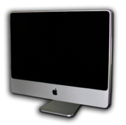The early-2008 revision of the iMac is Apple's newest Macintosh Computer.