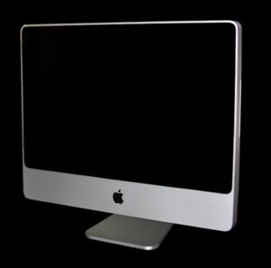 Núverandi 2007 Intel iMac.