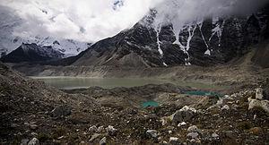 Imja Tsho - Image: Imja Lake