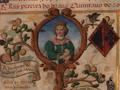 Infanta D. Beatriz, Duquesa de Viseu (1430-1506) - Genealogia de D. Manuel Pereira, 3.º conde da Feira (1534).png