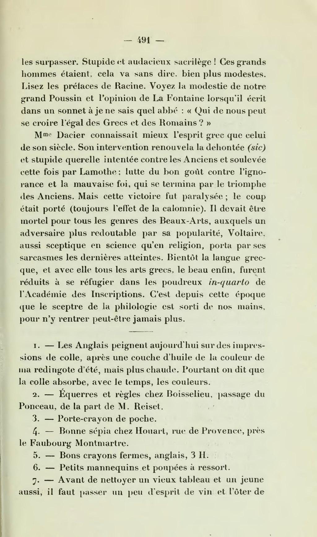 Nettoyer Un Vieux Tableau page:ingres d'après une correspondance inédite, éd. d'agen