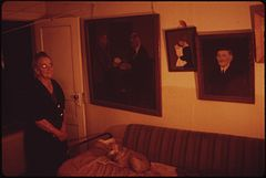 Inside the Nna Home in Rifle. Mrs. a Was Born in Rifle in 1890, 07-1973 (3815839538).jpg