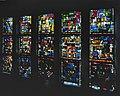 Interieur, aanzicht beschilderd glas-in-loodraam - Noordwijkerhout - 20367023 - RCE.jpg