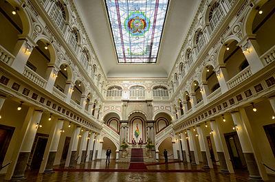 Palacio de gobierno bolivia wikipedia la enciclopedia for Gobierno interior