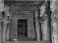Interior of Temple of Rameses II at Abu-Simbel byErnestLongfellow MFABoston.png