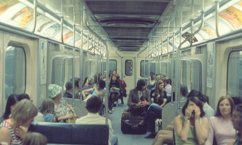 File:Interior of Toronto Transit Commission Class H-1 subway car.jpg