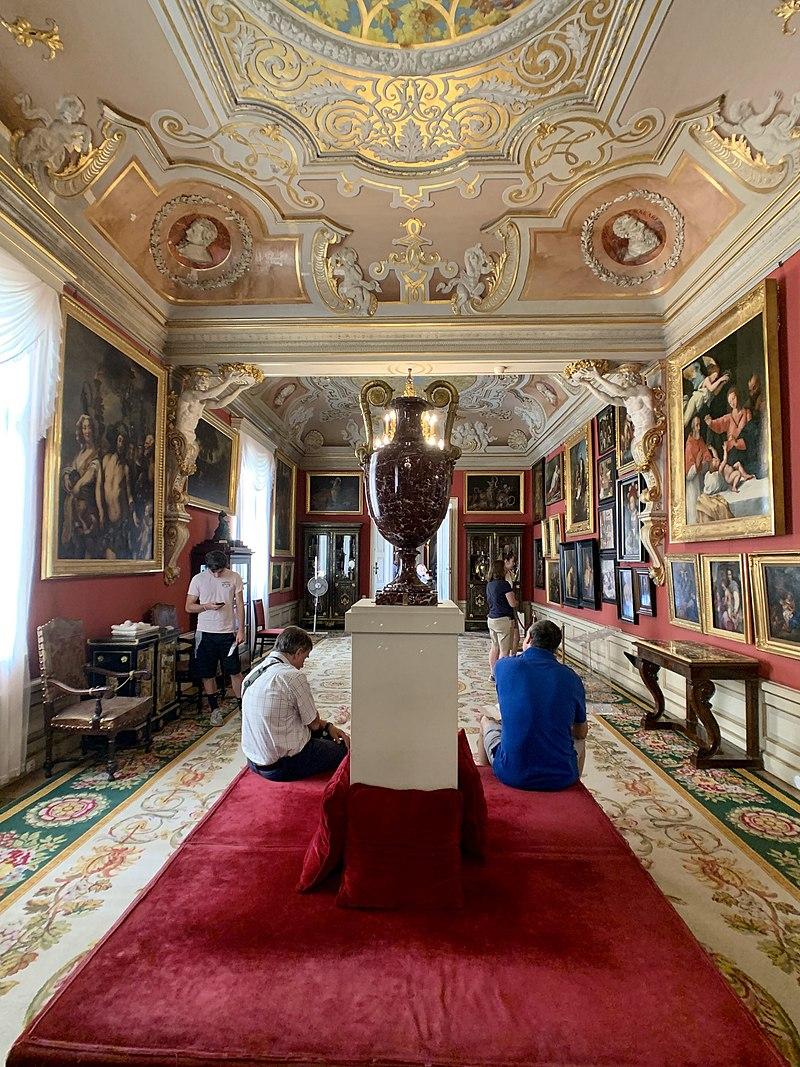 Interior of the Wilanów Palace, Warsaw, Poland 12.jpg