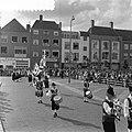 Internationaal folkloristische optocht Arnhem. St. Sebastiaansgilde van Haacht, , Bestanddeelnr 907-9238.jpg