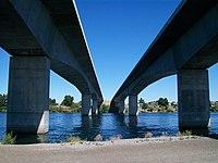 Interstate 182 bridges over the Columbia River 1.jpg