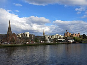 Inverness - Inverness, Bank Street, St Columba's High Church - 20140424185205.jpg
