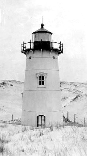 Ipswich Range Lights - The 1881 rear tower.