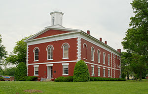 National Register of Historic Places listings in Iron County, Missouri - Image: Iron County MO courthouse 20140524 114 v 2