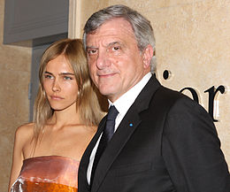 Isabel Lucas with Sidney Toledano in Sydney 2013 (1).jpg