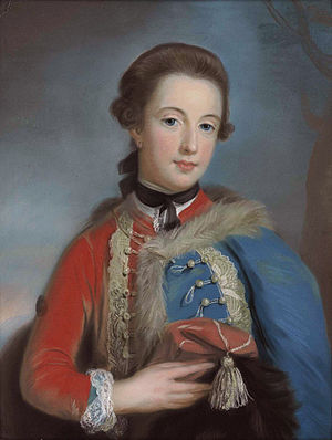 Charles Molyneux, 1st Earl of Sefton - Isabella Stanhope, later Countess of Sefton (1748-1819) (Catherine Read,circa 1768)