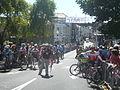 Island Games 2011 men's Town Centre Criterium cycling start line 2.JPG
