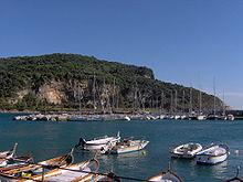 Isola Palmaria vista dal molo di Porto Venere