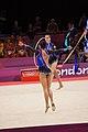Israel Rhythmic gymnastics at the 2012 Summer Olympics (7915060492).jpg