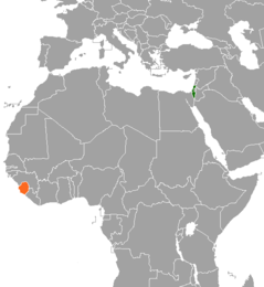 Israel–Sierra Leone relations Diplomatic relations between the State of Israel and the Republic of Sierra Leone