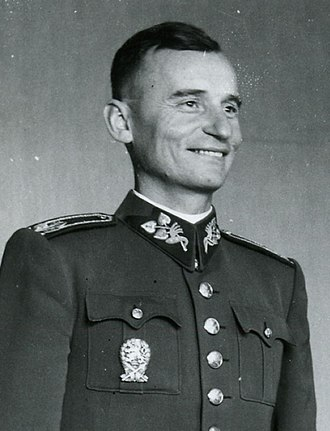 Slovak National Uprising - Ján Golian, one of the main organizers and commander of the rebel forces.