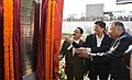 J.P. Nadda along with the Minister of State (Independent Charge) for Power, Coal and New and Renewable Energy, Shri Piyush Goyal inaugurating the new IT-enabled OPD registry block, at AIIMS, in New Delhi on December 25, 2015.jpg