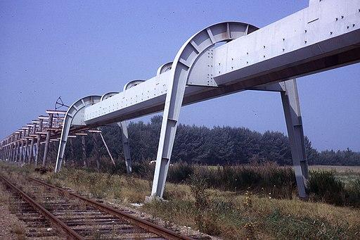 JHM-1963 - Voie du SAFEGE expérimental, près de Gien