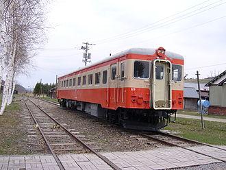 Okhotsk (train) - Image: JNR Kiha 22 69