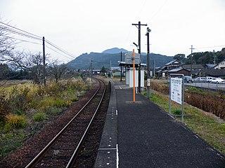 Momonokawa Station Railway station in Imari, Saga Prefecture, Japan