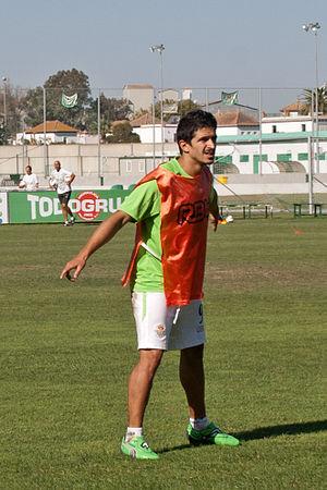 Jonathan Pereira Rodríguez - Pereira training with Betis in 2011