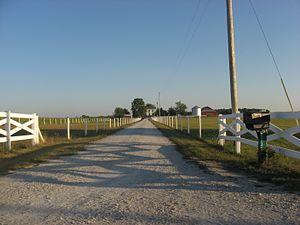 Jabez Reeves Farmstead - Jabez Reeves Farmstead, August 2012