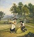 Jacob Gauermann Beim Kornbinden 1819.jpg