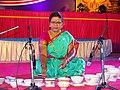Jaltarang music concert by Vidushi Shashikala Dani at Karavali Utsav Karwar.jpg