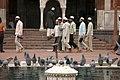 Jama Masjid, Visitors, Delhi, India.jpg