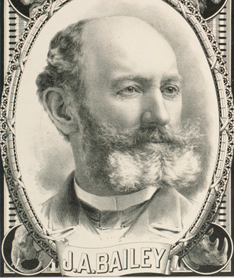 James Anthony Bailey - Image: James Anthony Bailey ca 1890s