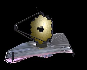 Northrop Grumman - Rendering of the $8.7B James Webb Space Telescope