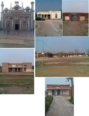 Jamia Masjid, Union Council 9, Govt. Girls Elementary School. Basic Health Center, Govt. Boys Elementary School, Civil Veterinary Hospital.jpg