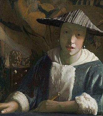 Girl with a Flute - Image: Jan Vermeer van Delft 020