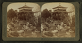Japan in America - pretty maids in garden before a Japanese teahouse, from Robert N. Dennis collection of stereoscopic views.png