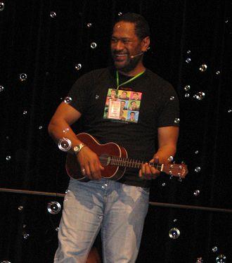 Jay Laga'aia - Jay Laga'aia performing