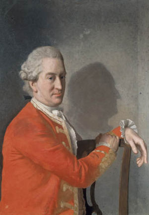 Earl of Clanbrassil - James Hamilton, 2nd Earl of Clanbrassil second creation, by Jean-Etienne Liotard.