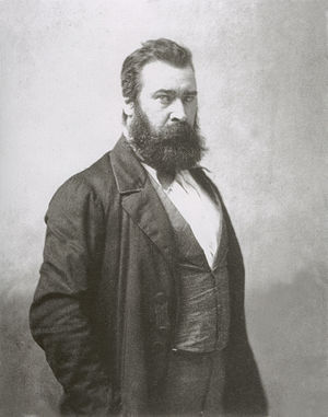 Jean-François Millet - Portrait of Millet by Nadar. Date unknown.