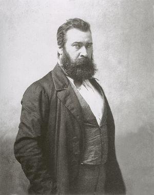 Jean-François Millet - Portrait of Millet by Nadar. Date unknown.