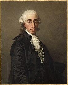 Jean-Laurent Mosnier - Portrait de Jean-Sylvain Bailly (1736-1793), savant et homme politique , maire de Paris de 1789 à 1791 (P991) - P991 - Musée Carnavalet.jpg