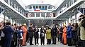 Jefa de Estado participó en la ceremonia de inauguración del transbordador Pathagon (16238069186).jpg